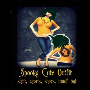 spooky cute ad