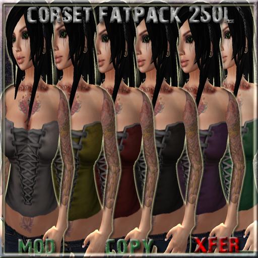 corset fatpack ad