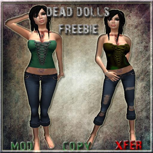 Dead Dolls Freebie Outfit